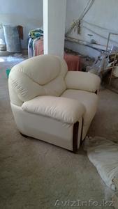 Белая кожаная мебель - Изображение #1, Объявление #753365