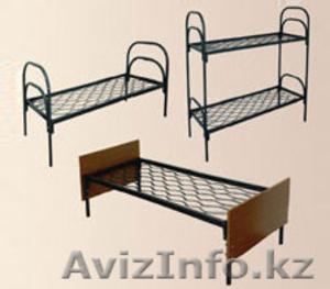Кровати металлические для казарм, кровати трёхъярусные для рабочих, кровати опт. - Изображение #3, Объявление #1425097