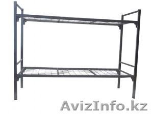 Кровати металлические для казарм, кровати трёхъярусные для рабочих, кровати опт. - Изображение #5, Объявление #1425097