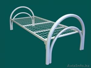 Кровати металлические для казарм, кровати трёхъярусные для рабочих, кровати опт. - Изображение #1, Объявление #1425097