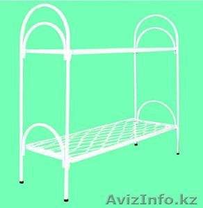 Кровати металлические для казарм, кровати трёхъярусные для рабочих, кровати опт. - Изображение #4, Объявление #1425097