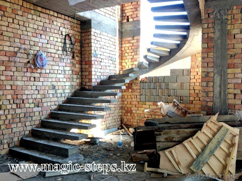 Лестницы монолитные