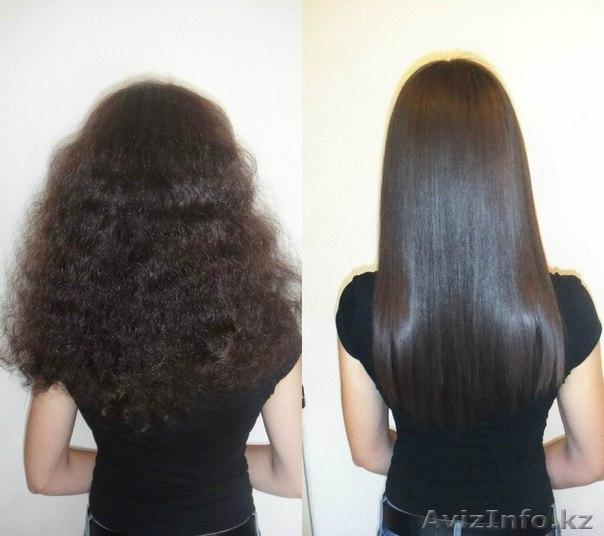 Выпрямление волос шымкент