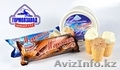 Мороженое сливочное и шоколадное от Гормолзавода